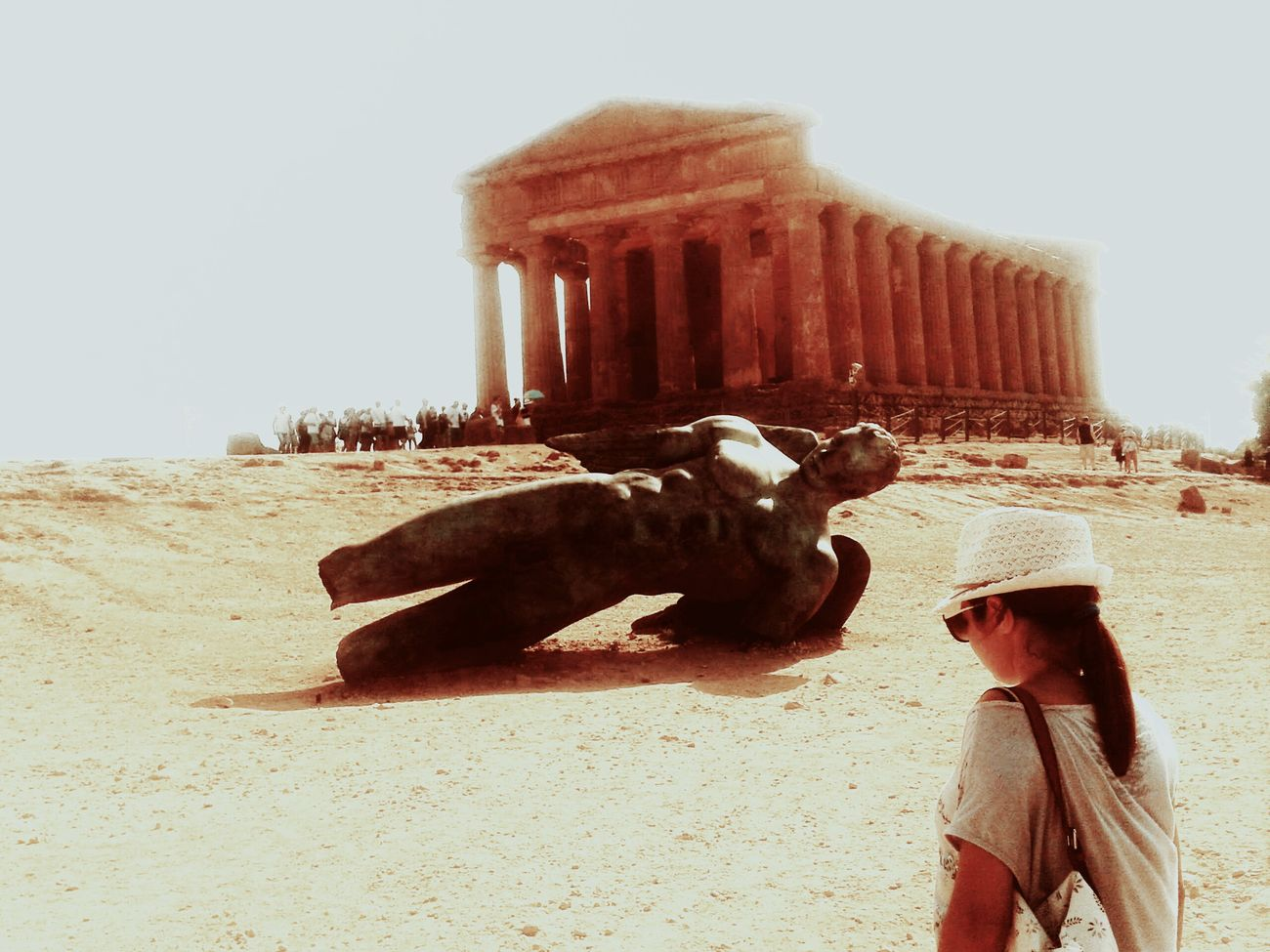 Agrigento Sicily Valle Dei Templi Beauty In Nature Tourist Summer EyeEm Best Edits Architecture Art Miles Away The City Light Let's Go. Together.