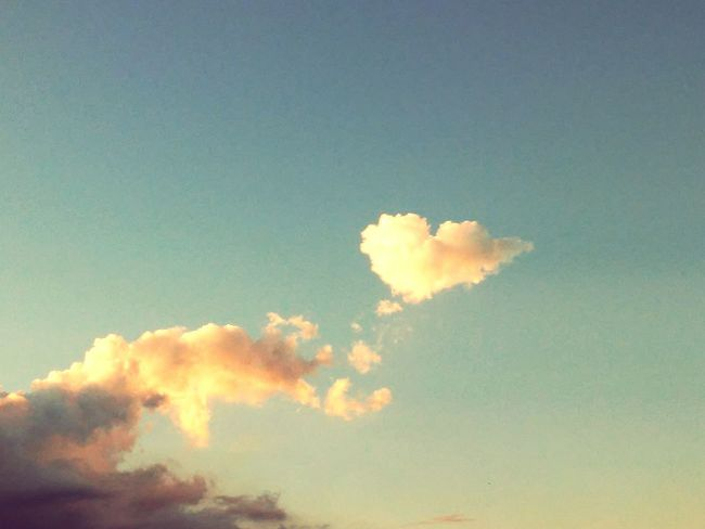 Sky And Clouds Shapes In Nature  Shapes In The Sky Cloud_collection  Cloud And Sky Collection. Cloud Formations Sky_collection Perfect Timing Skylovers Shapegram Heart