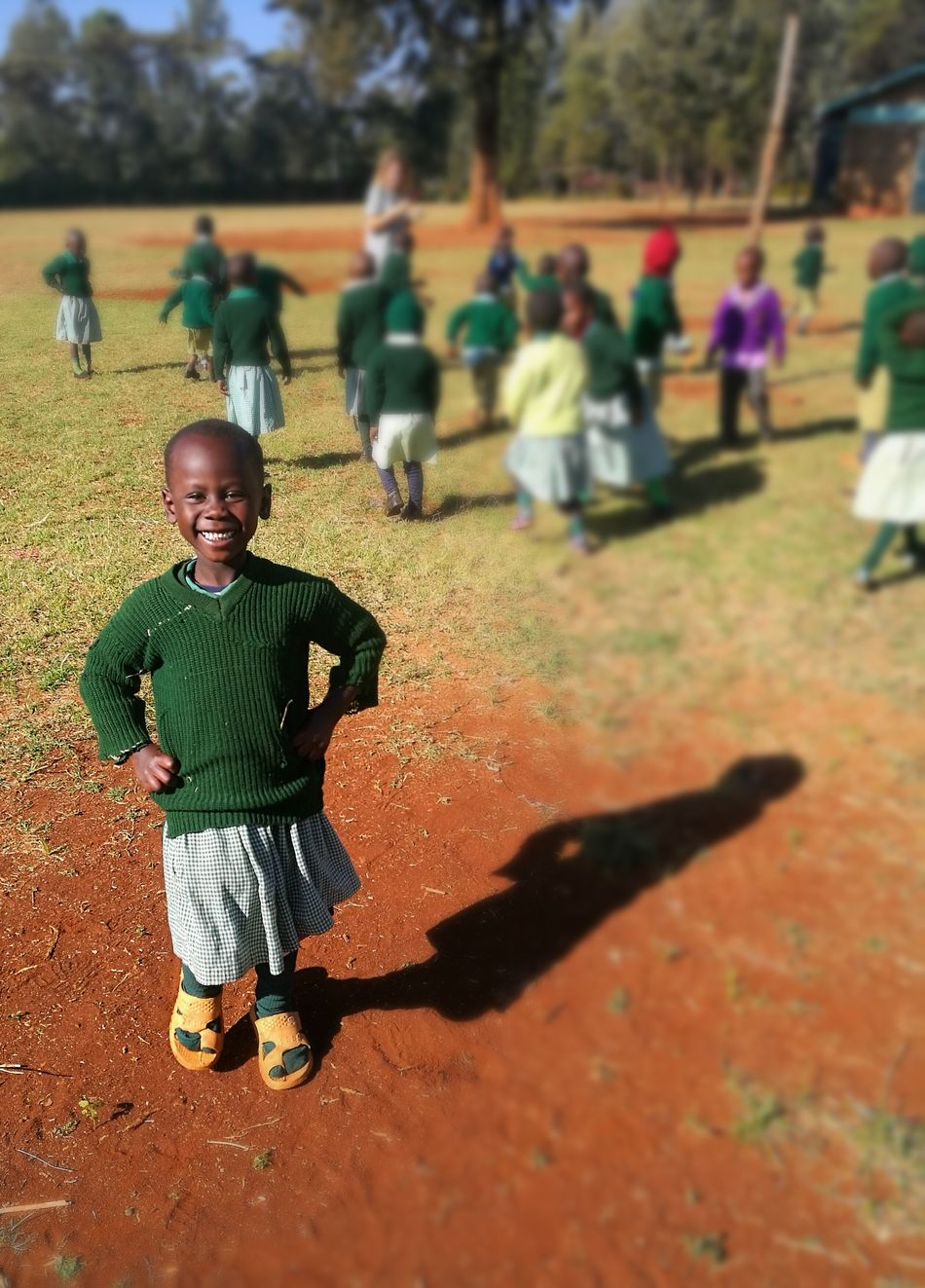I have never seen a smiling face that was not beutiful.. Child Outdoors Cute Smiling Happiness Kenya First Eyeem Photo