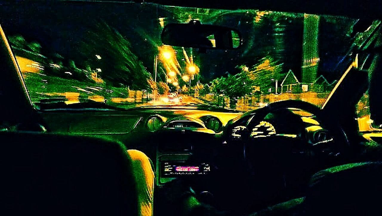 Night Transportation Car Illuminated City Vehicle Interior Car Interior Road Traffic Street Light Land Vehicle Mode Of Transport No People City Life Close-up Driving Dark Steering Wheel Bridge - Man Made Structure Outdoors Race Racecar Speed Speeding Racing celica joyride fun First Eyeem Photo