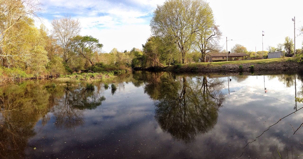 IPhoneography Outside Photography Streamzoofamily EyeEm Nature Lover Nature_collection New England  May Panoramic Photography Beautiful Nature Panorama Reflection Water Reflections Water_collection Panoramic Massachusetts