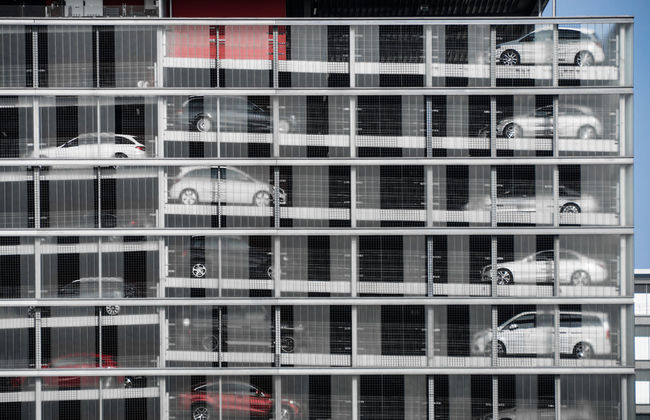 Architecture Architecture Architecture_collection Architecturelovers Automobile Building Built Structure Car Parking Cars City City Life City Life Full Frame Garage Keycolor Modern No People Parkhaus Parking Parking Garage Parking Lot Repetition Side By Side Urban Showcase July