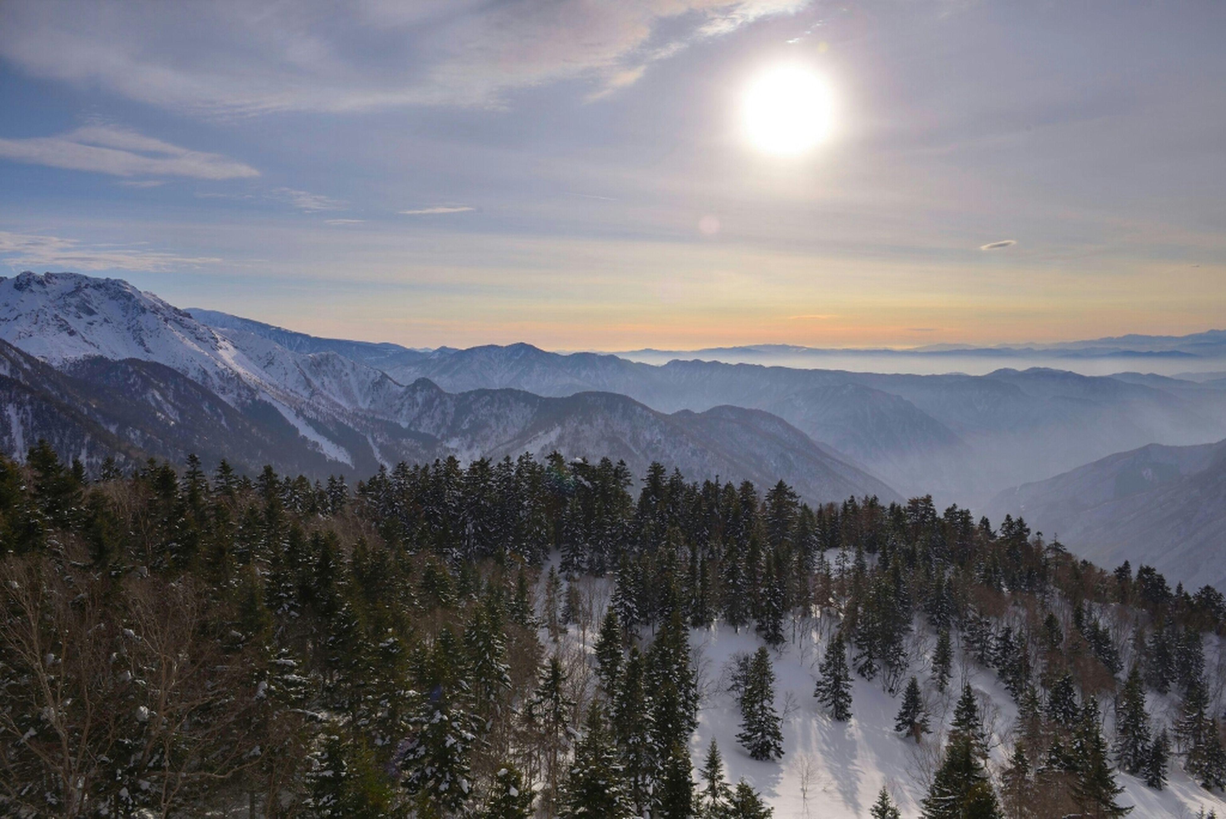 Mountain View Gifu Takayama Japan Alps