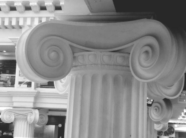 Roman pillars in BKK.