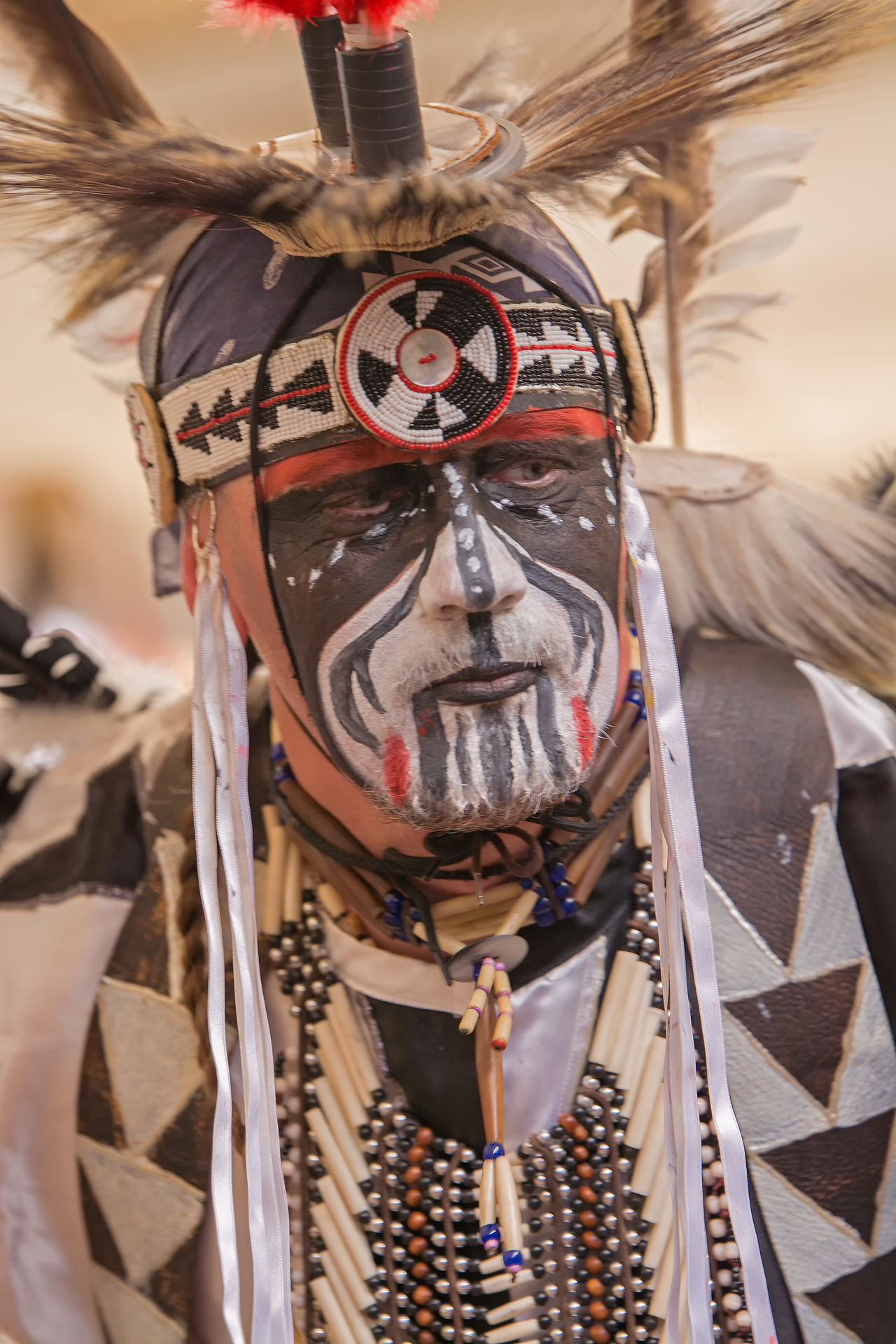 Beautiful stock photos of native american, close-up, outdoors, day, one person