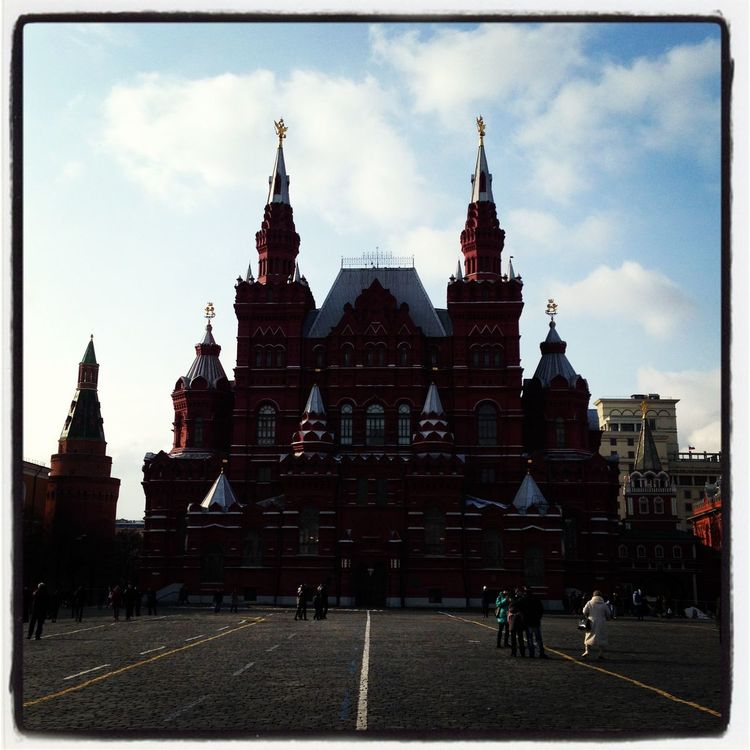 Moscow Russia Red Square Historical Museum Historical State Museum Museum History Museum