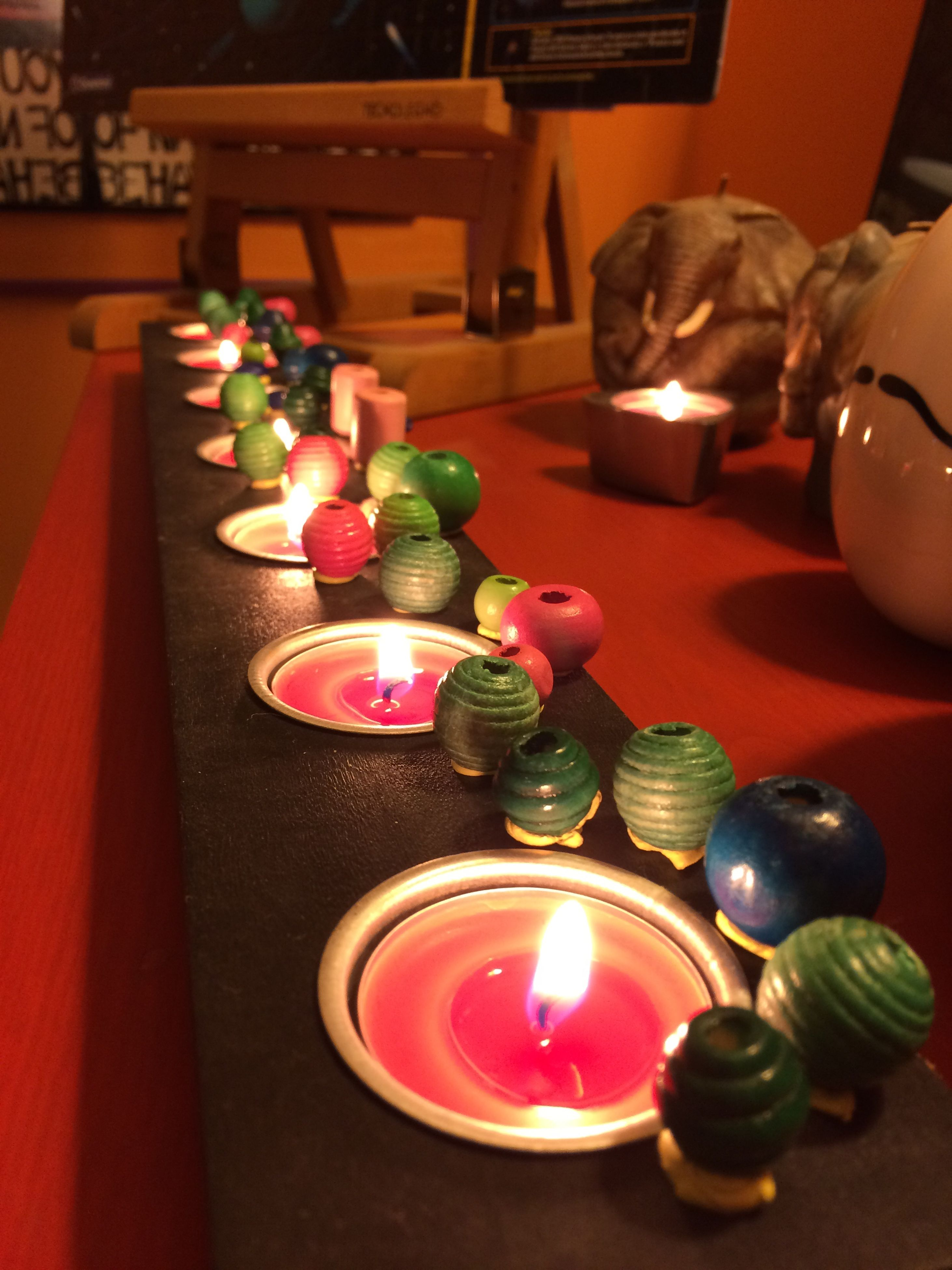 flame, candle, burning, indoors, tea light, table, lit, illuminated, no people, birthday candles