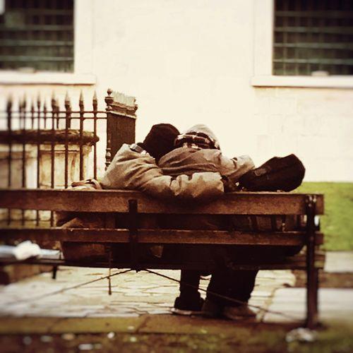 LONDON❤ London Homeless Homelessness  Homeless Couple Love ♥ Love Sleeping Rough Bodyheat Keeping Warm Eyem Best Shots