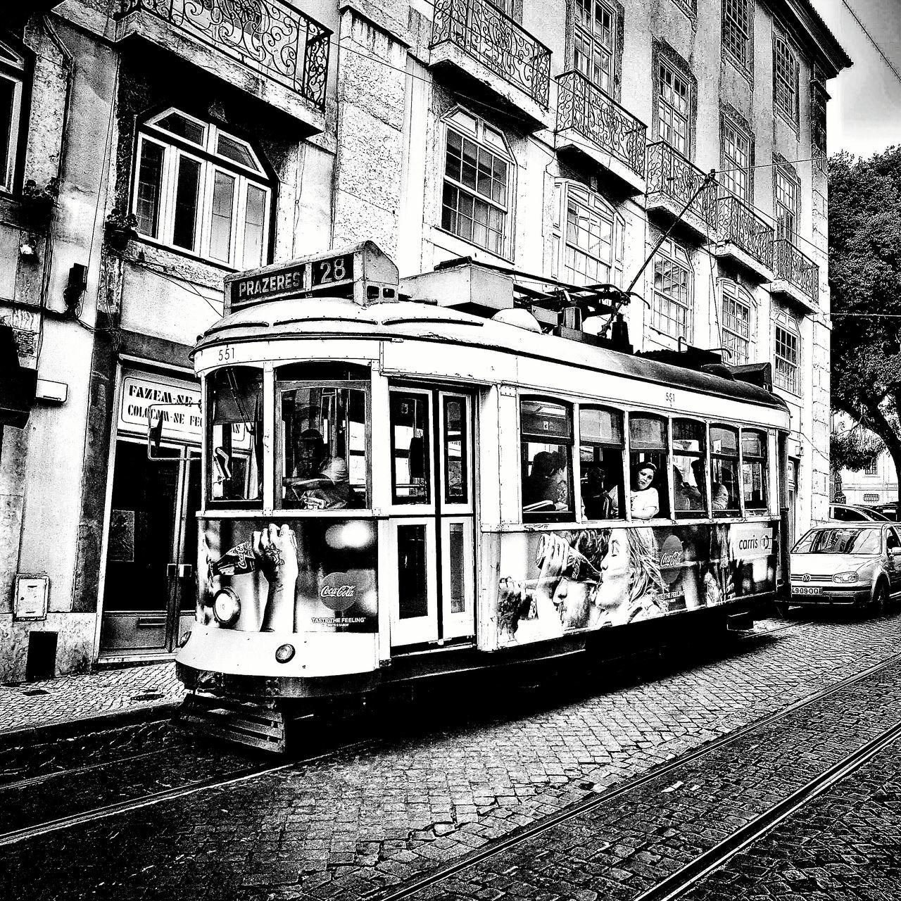 Lisbon Tram Lisboa Portugal Lisbona Portogallo Street First Eyeem Photo