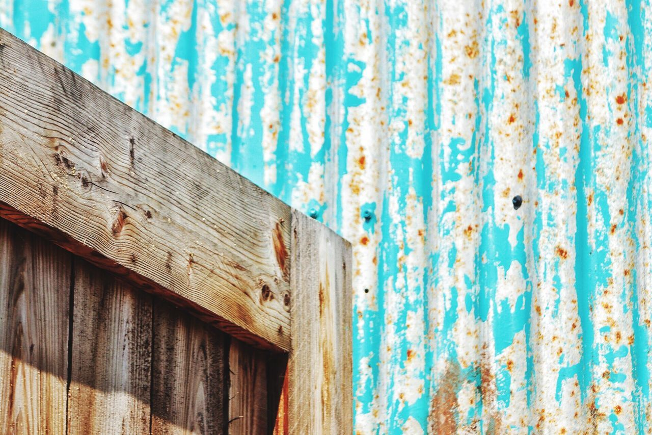 Wood - Material Weathered Old Rusty Textured  Run-down Damaged Pattern Backgrounds No People Wooden Shack Corrugated Corrugated Iron Rusting Corrugated Metal Rust Corrosion Day Old-fashioned Outdoors Building Exterior Corrugated Iron Close-up Weathered Wood Weathered Metal Patina