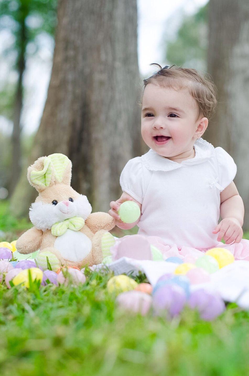 Beautiful stock photos of osterhasen, 6-11 Months, Animal Representation, Baby Girls, Babyhood