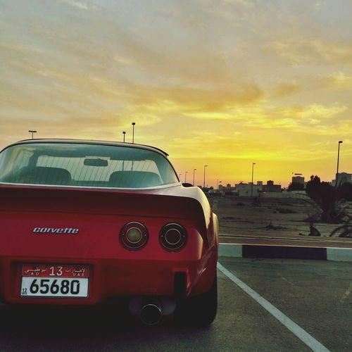 Corvette 1979 Sky Sunset