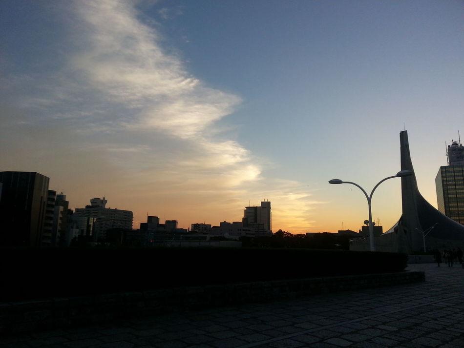 View 秋の東京の夕焼けこやけ♪