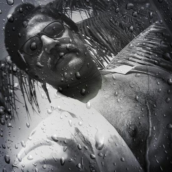 One Person Headshot Njoying Rainy Day Close-up Portrait Thats Me ♥ Black-and-white Photography Good Day ☺ With Love From India💚 truly..urs.. Nitin