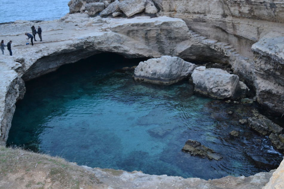 Beauty In Nature Grottadellapoesia Nature Outdoors Roca Rock - Object Salento Scenics Tranquility Water