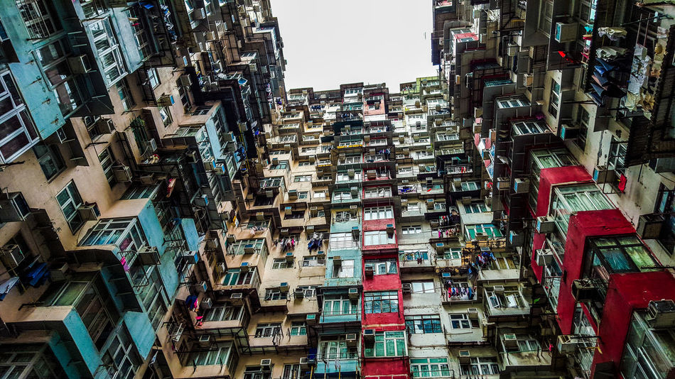 Yick Fat Building 3/3 Apartment Architecture Architecture_collection Battle Of The Cities Building Exterior Built Structure City City Life Cityscapes Crowded Eye4photography  EyeEm Gallery Hong Kong On The Road Residential District Residential Structure Skyscraper Street Photography Streetphotography Travel Traveling Urban Geometry Urban Landscape Urbanphotography Yick Fat Building