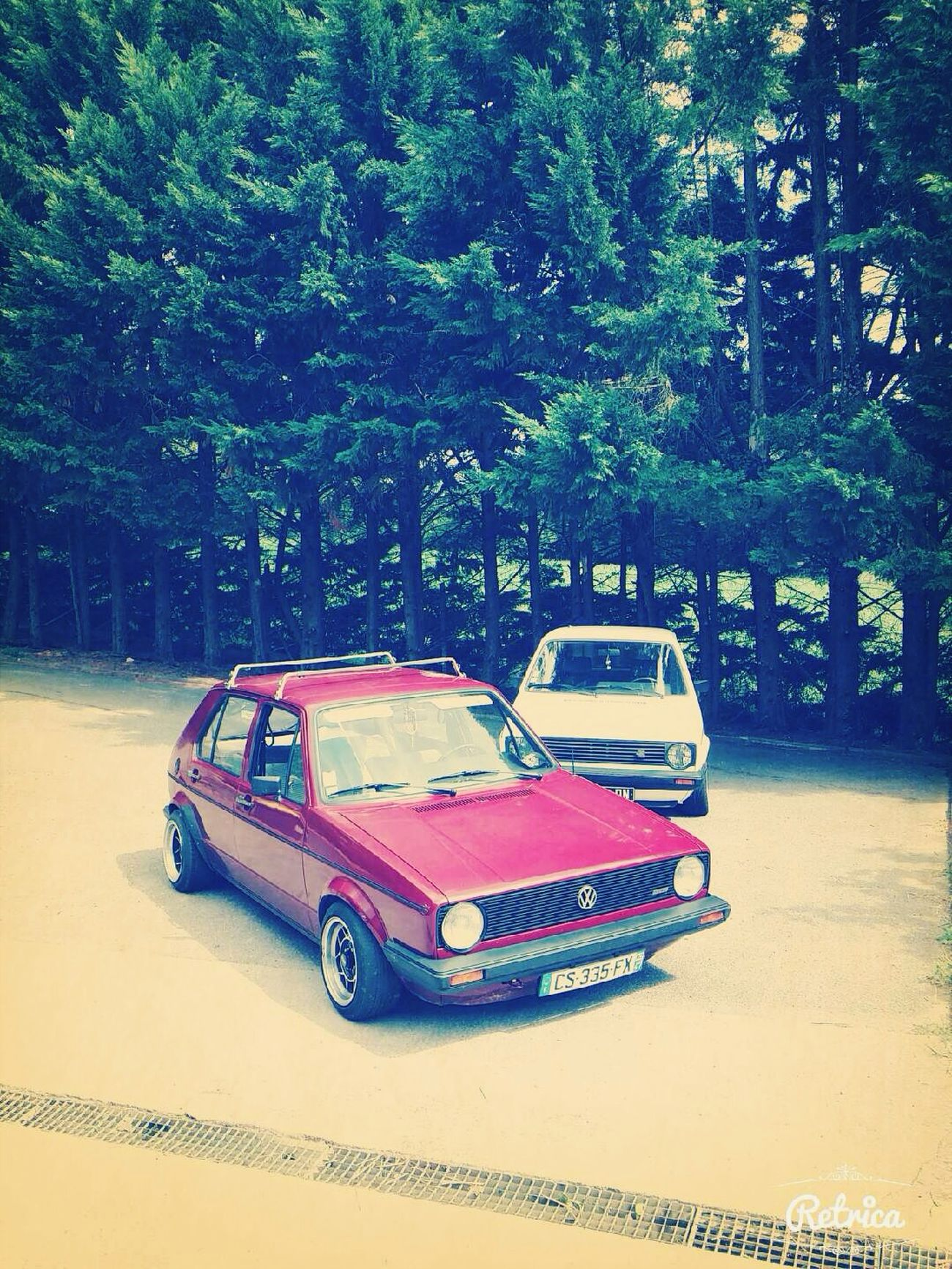 Vw Golf Posey ✌️ First Eyeem Photo
