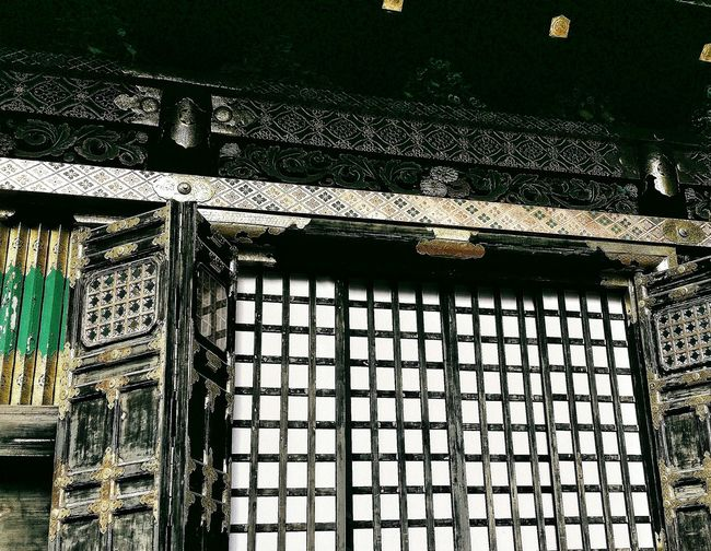 """Kitouden Prayer Hall called the Kamishamusho (which means """"upper office"""") Nikko Toshogu Shrine Religion Shinto Architecture Design Panels Culture Japanese Culture Asian Culture Travelphotography Japan"""
