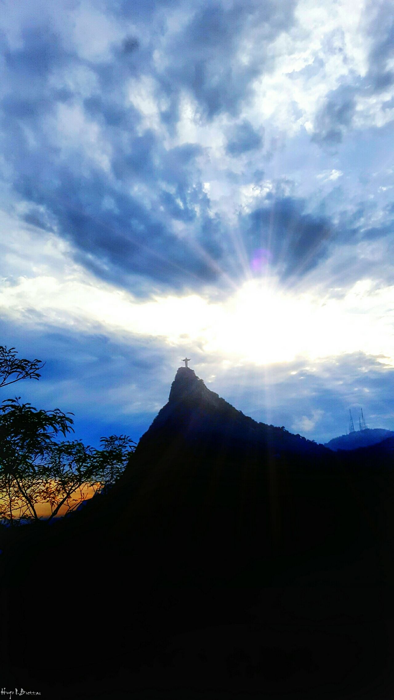 Landscape Cloud - Sky Scenics Beauty In Nature Nature No People Outdoors Sky Mountain Day Christ Redeemer Christ Redemptor Riodejaneiro Rio De Janeiro Brazil The Great Outdoors - 2017 EyeEm Awards