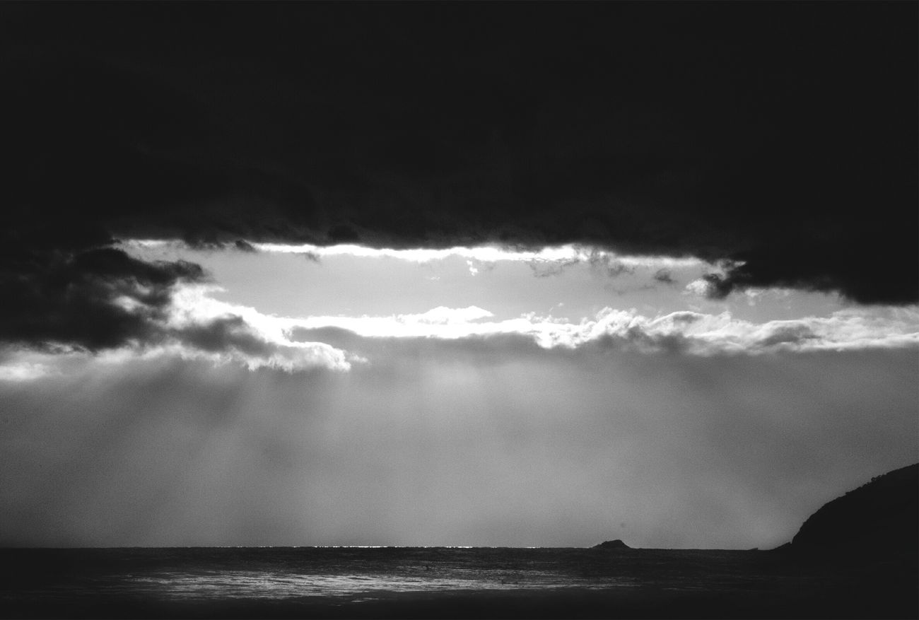 Beachphotography Blackandwhite Clouds And Sky Skycollection BLCK&WHT