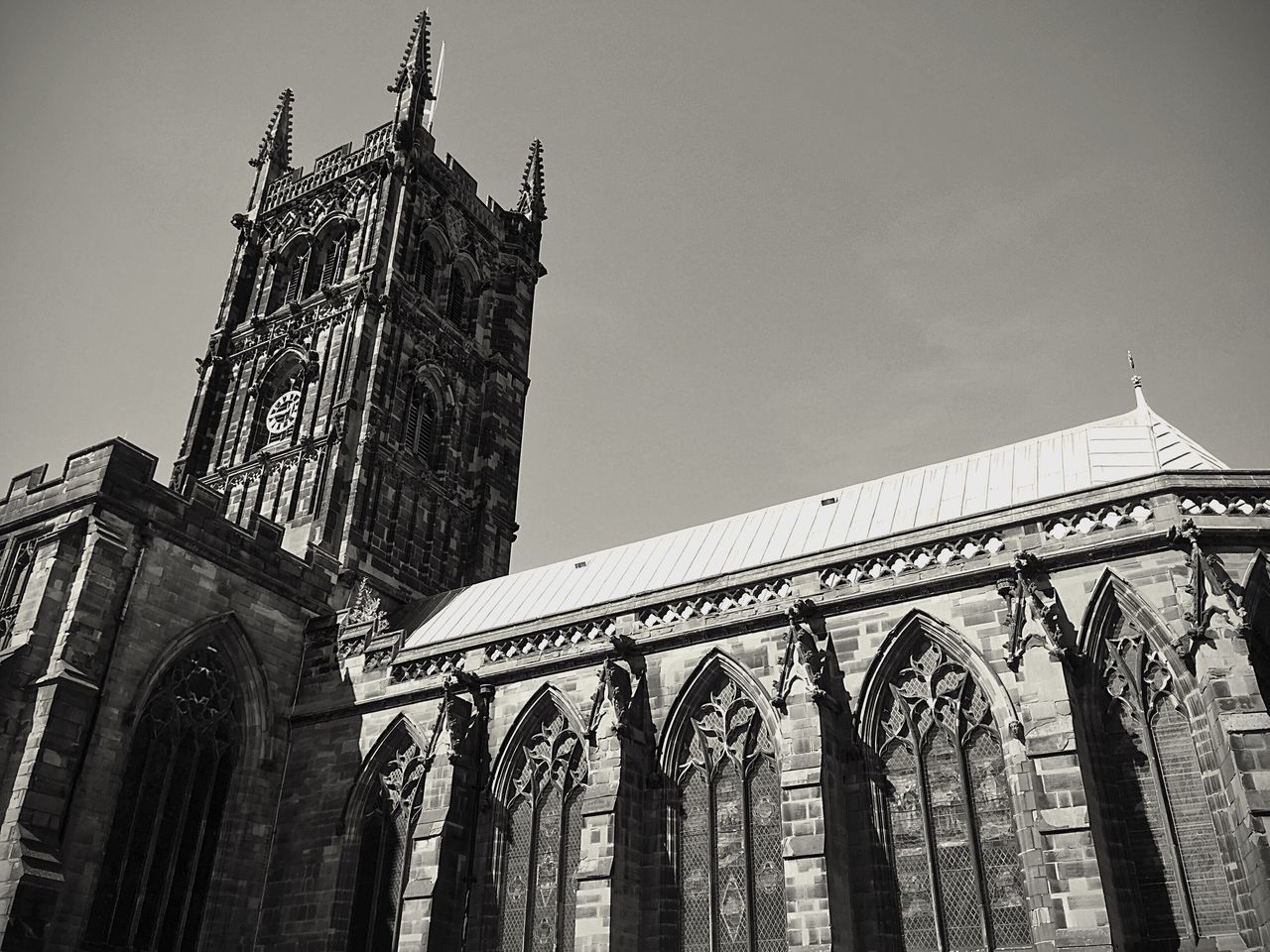 Wolverhampton Architecture Religion Church Place Of Worship Spirituality Low Angle View Cathedral Gothic Architecture Gothic Cathedral West Midlands St Peters Cathedral St Peters St Peter's Saint Peter's Cathedral Gothic Cathedral Place Of Worship Spirituality Architecture Low Angle View City