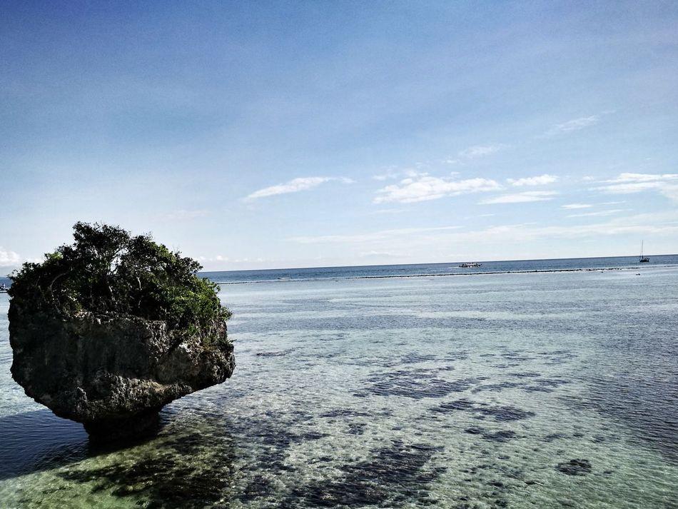 No Man is an Island Sea No People Beach Sky Boracay First Eyeem Photo