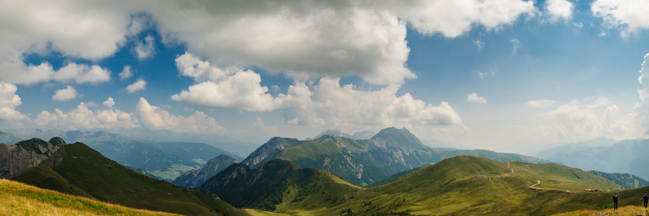Panorama vom Golzentip, Obertilliach Austria Beauty In Nature Berge Cloud Hill Landscape Landscape_photography Majestic Mountain Mountain Range Mountains Non-urban Scene Outdoors Panorama Panoramic Photography Scenics Sky Tirol  Tranquil Scene Tranquility Traveling Österreich Landscapes With WhiteWall