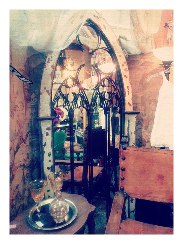 Star Antiques Market Antiques Vintage Looking At The Old Stuff #gothic#church#window#unique stuff