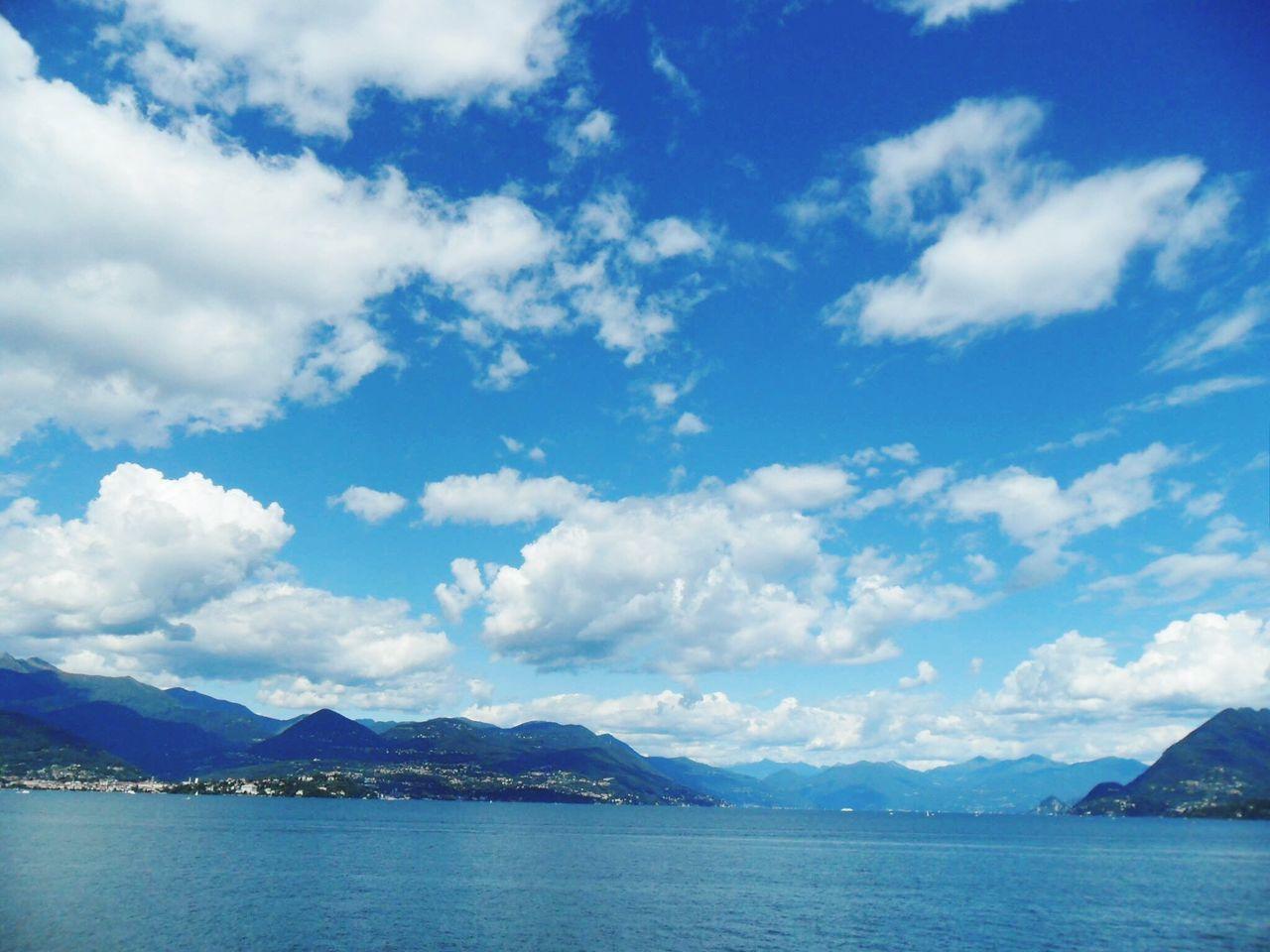 Nuvole Sky Solocielo Azzurrocielo Azzurro Vista Villapallavicino
