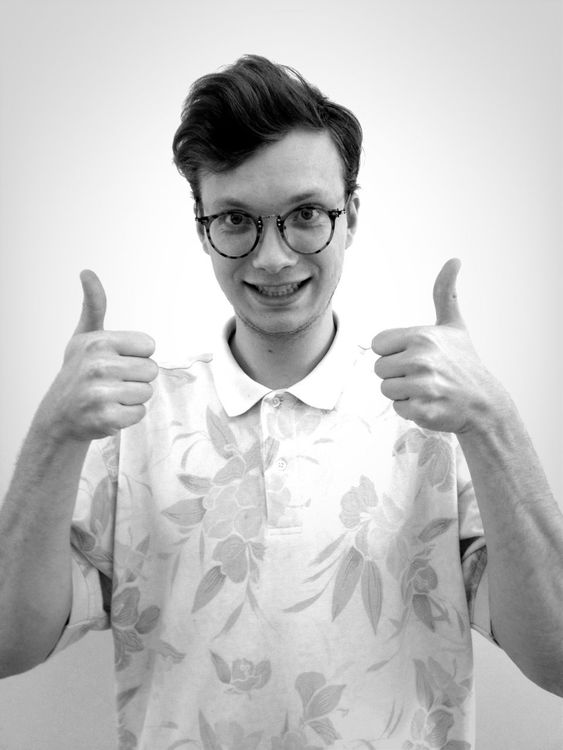 thumbs up at EyeEm HQ by Stephanie