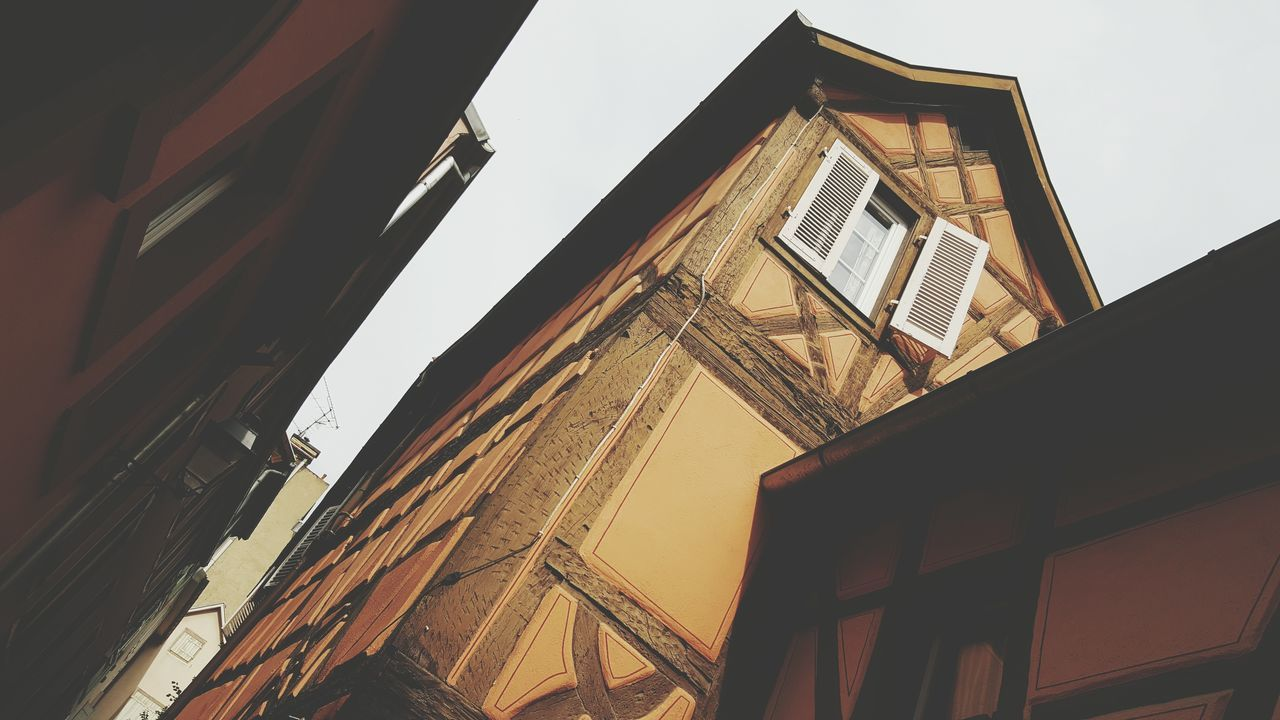 Old Cards Geometric Architecture Window Windows Wood - Material Outdoors Wood Colmar Architecture City Life City House Building Architecture Colmar Colmar, Alsace, France Wall Wall - Building Feature Card Design Art Color Palette Colors Clouds And Sky Tourism