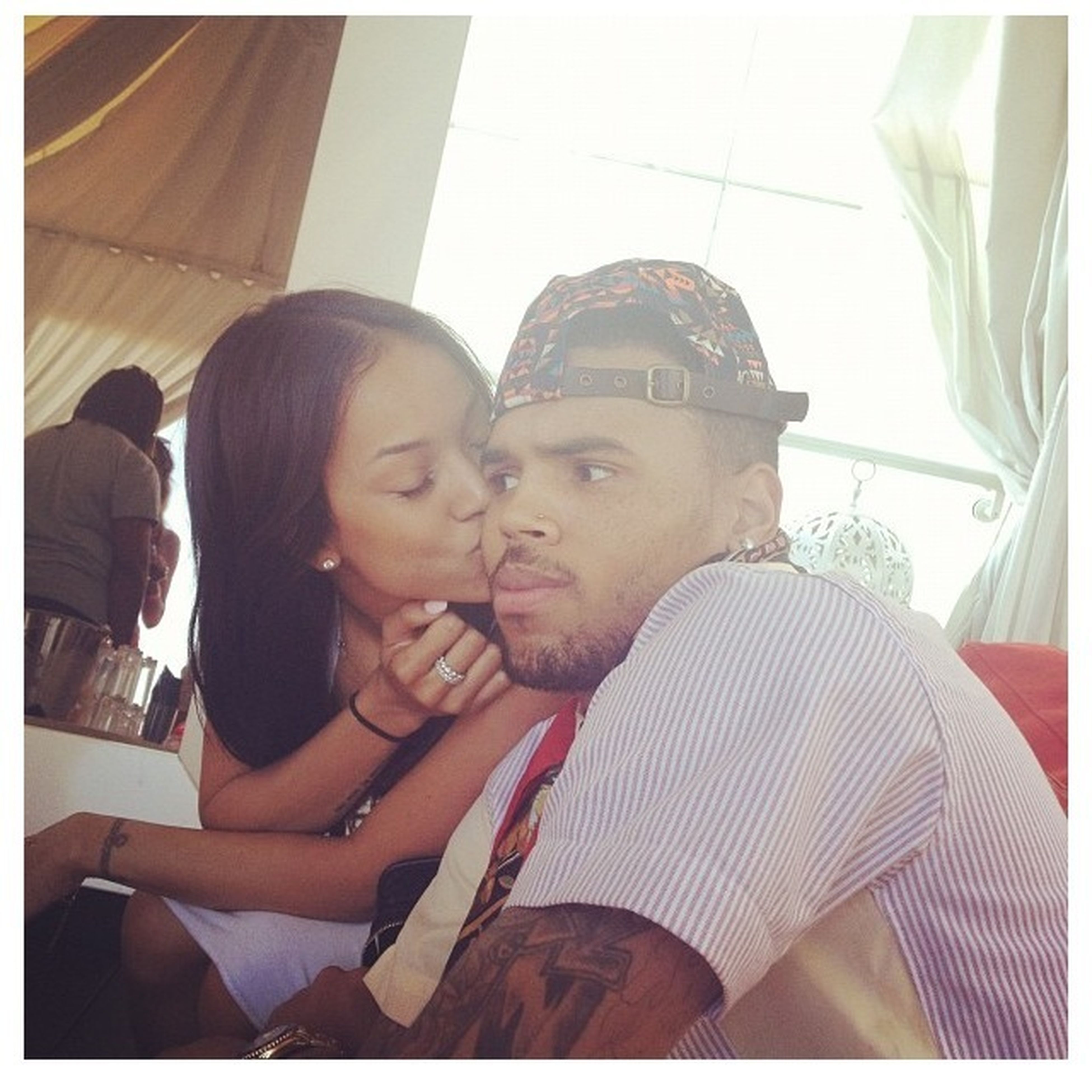 I Adore These Two #Karrueche #ChrisBrown