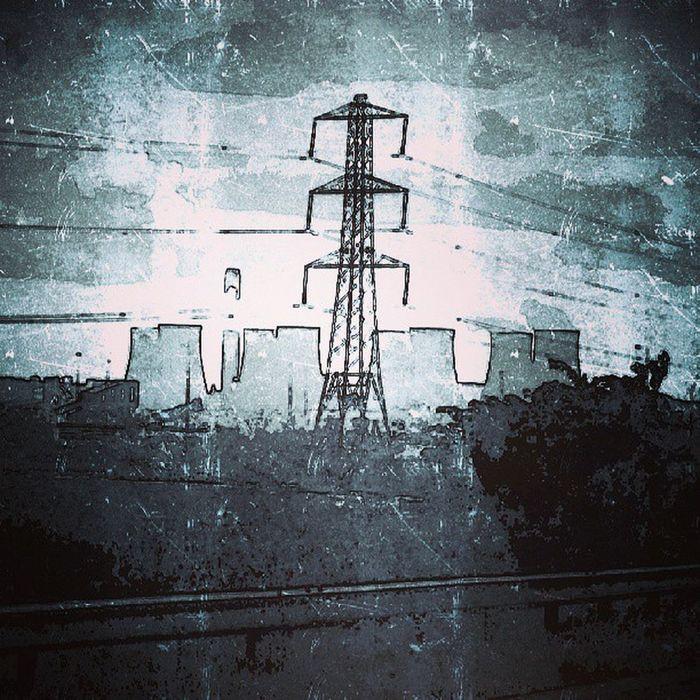 Energy Powerstation Britishcountryside Pollution Energy power grim looming dark powerful