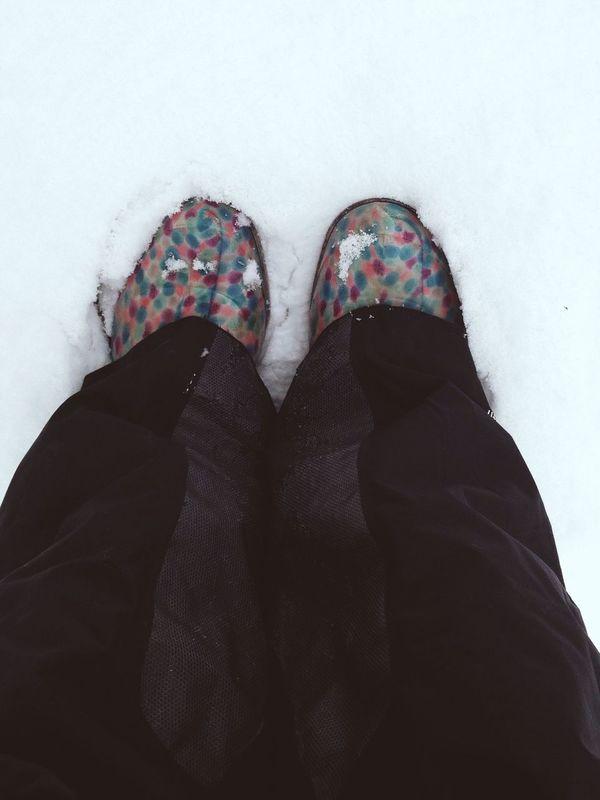 осень снег СЧАСТЬЕ