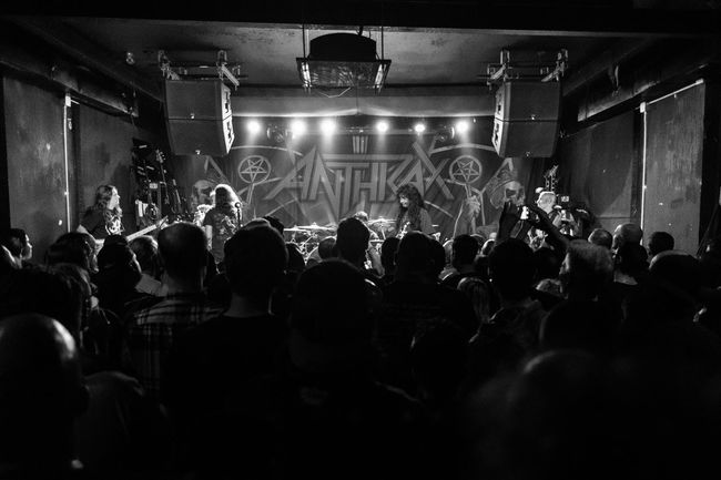 Anthrax. Anthrax Arts Culture And Entertainment Blackandwhite City Life Concert Crowd FiveSigmaPhoto Metal Show Music Night Nightlife Performance Rock N Roll Show Thrash Black And White