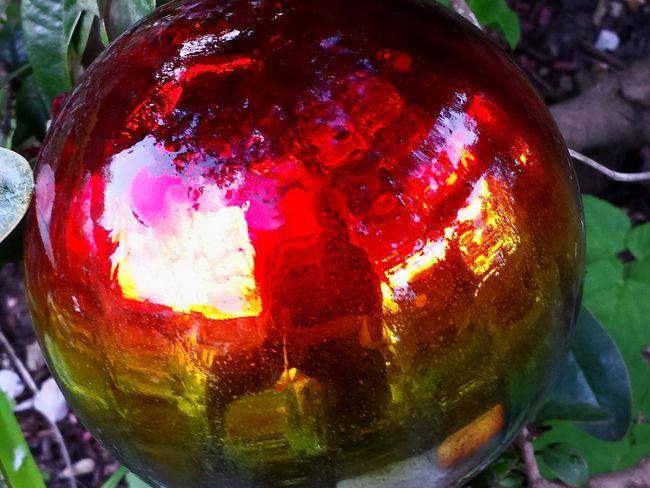 Garden Globe Stained Glass Globe Red Album Red Collection Spiegelung In Glaskugel Mirroring Red Glaskugel Gartenkugel Showcase : April Beliebte Fotos Ladyphotographerofthemonth Close-up Close Up