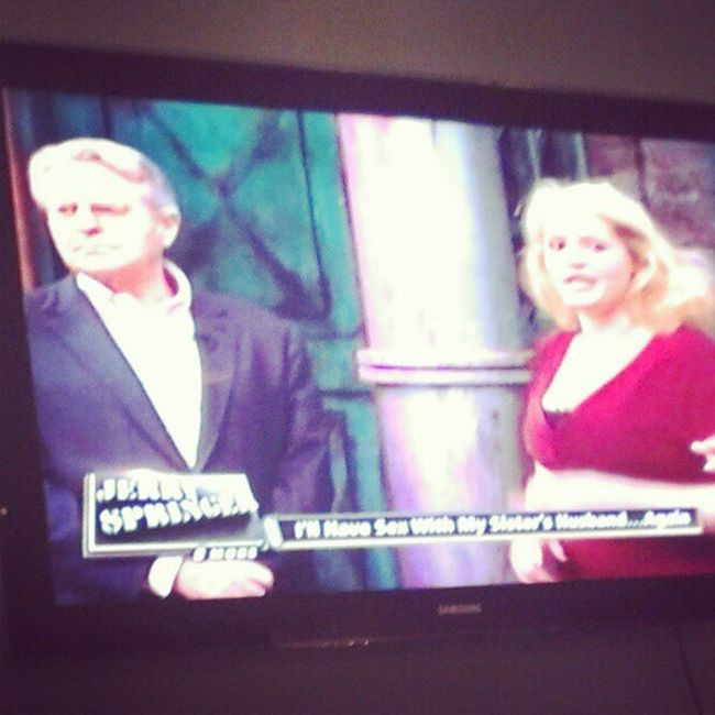 They got these old people watching JerrySpringer