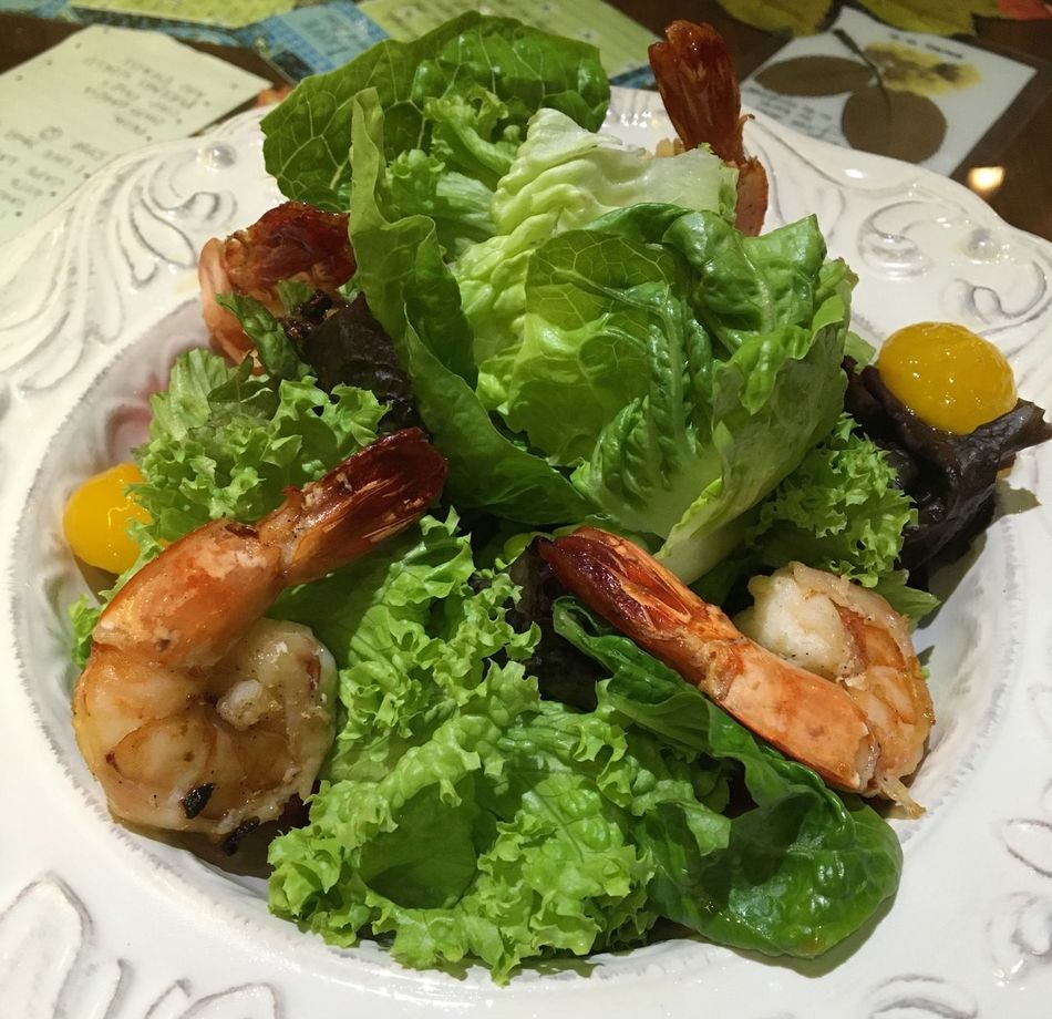Prawn Salad, Manila, Philippines Prawn Salad Salad Salad Time Healthy Food Fresh Vegetables Food Food Photography Prawns Manila, Philippines