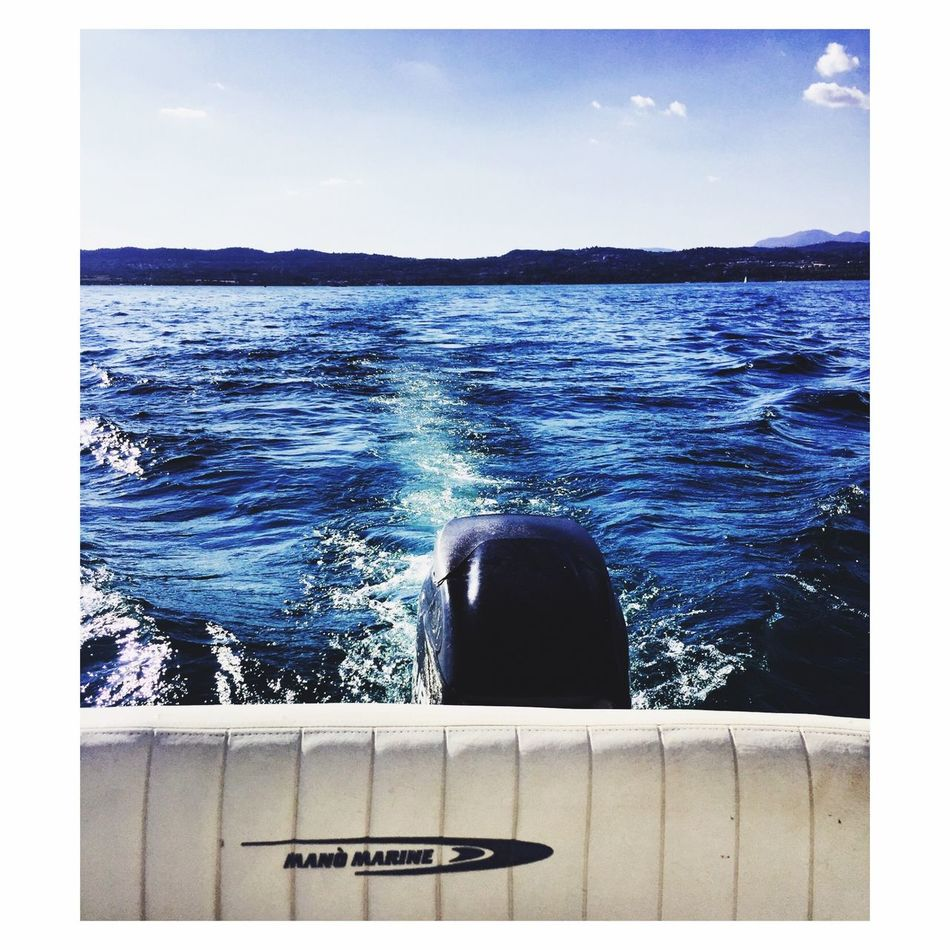 Lago Di Garda Motoscafo Relax Sunday First Eyeem Photo