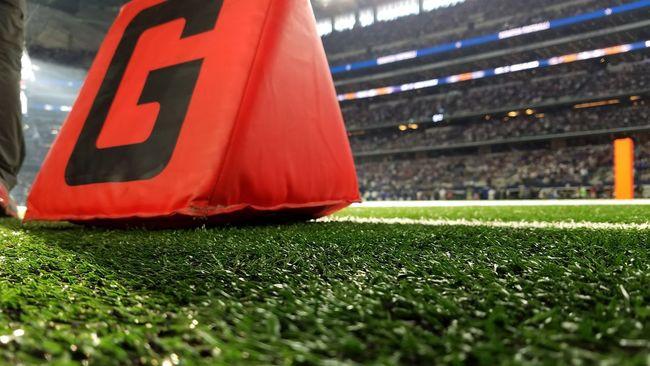The Color Of Sport Football Football NFL Football Dallas Cowboys Vibrant Color ! Goalline AT&T Stadium Arrington Texas