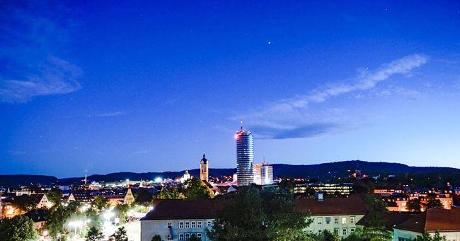 Nightphotography Germany Deutschland EyeEm Best Shots Jena Jentower Night Night Lights Night Out Thuringen Sky And Clouds Skyline