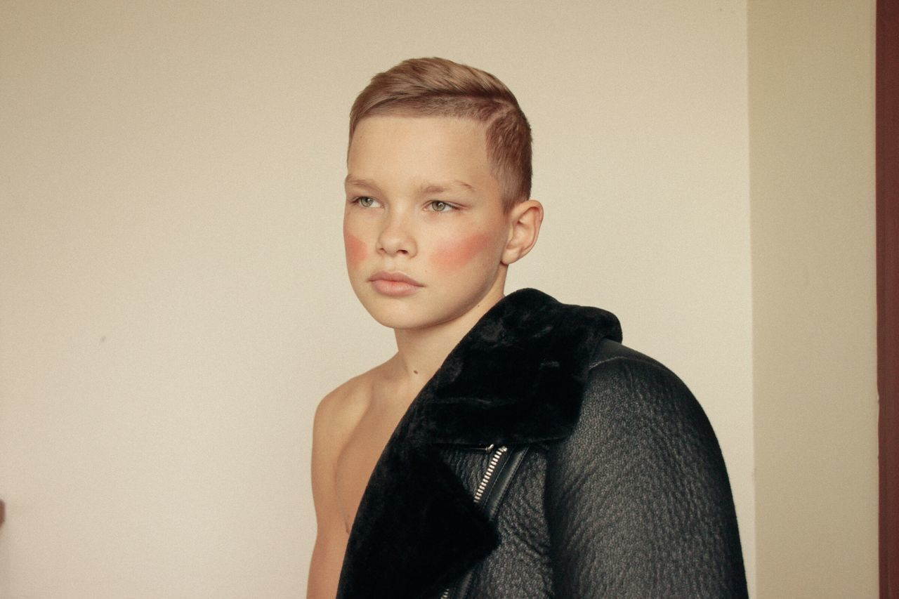 Portrait Young Adult Headshot Indoors  GUCCI Athlete Fashion
