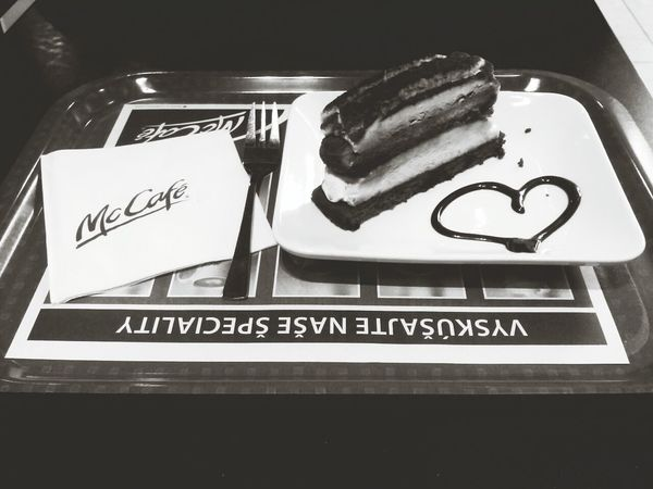 Mcdonalds Yummy Tiramisu Taking Photos hmm :-*