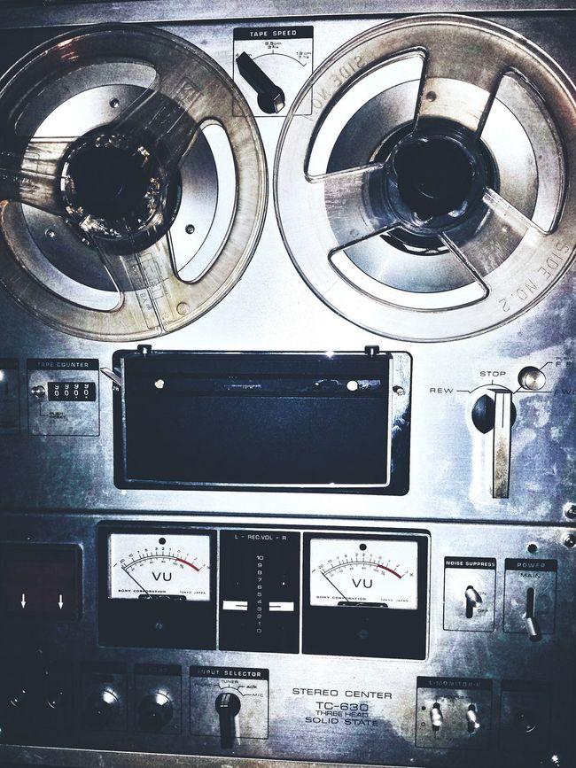Old Apparatus Electric Vintage Taking Photos Amplifier Vintage Tape Recorder