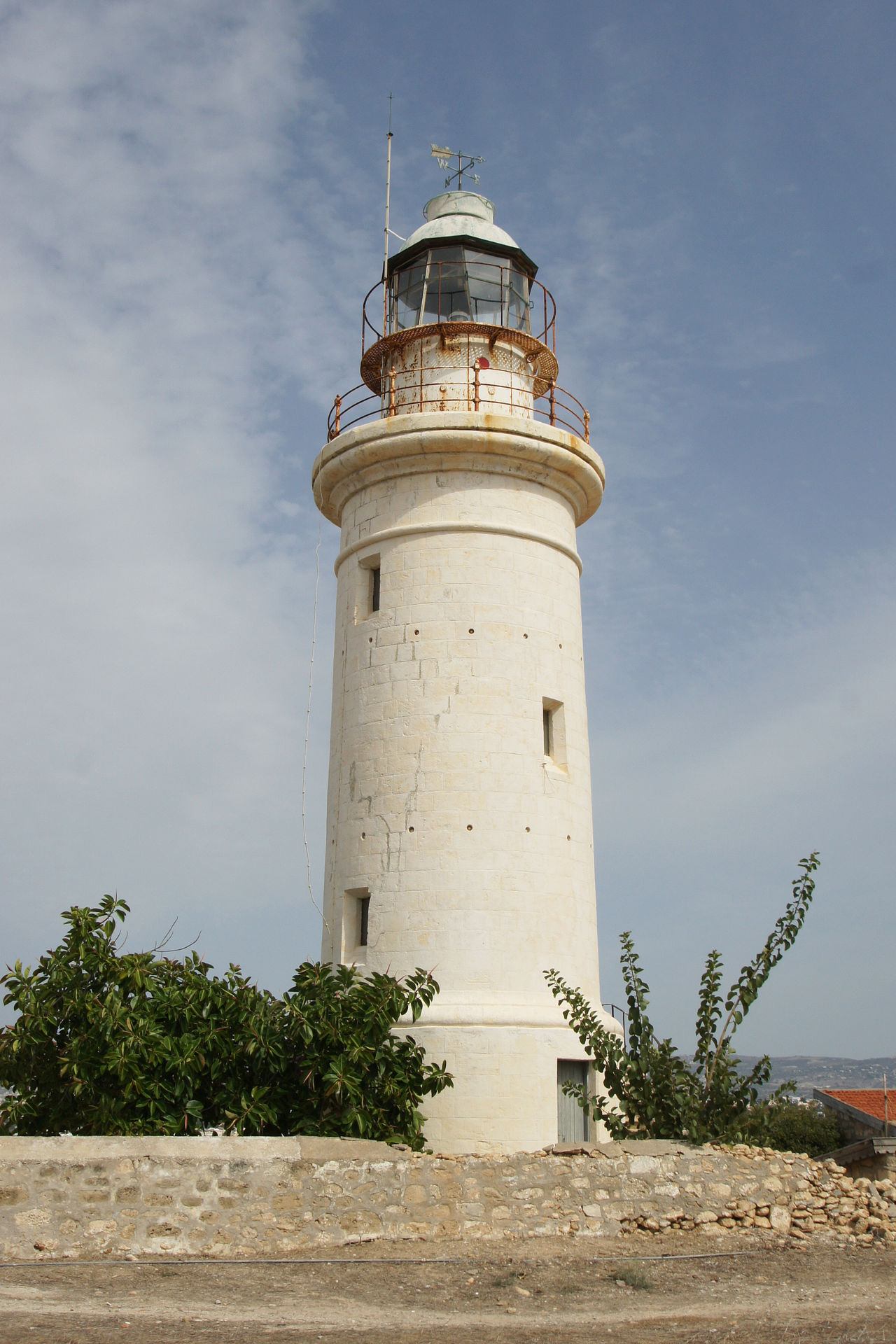 Lighthouse of Paphos, Cyprus Architecture Building Exterior Built Structure Coast Coastline Cyprus Day Direction Europe Guidance Lighthouse Mediterranean  No People Outdoors Paphos Sightseeing Solitude Tourism Tourist Attraction  Tower Travel Travel Destinations White