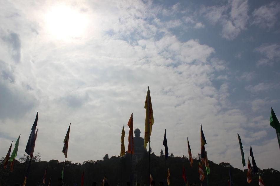 Plant Sky No People Nature Sunset Outdoors Day Travel Photography HongKong Tian Tan Buddha (Giant Buddha) 天壇大佛
