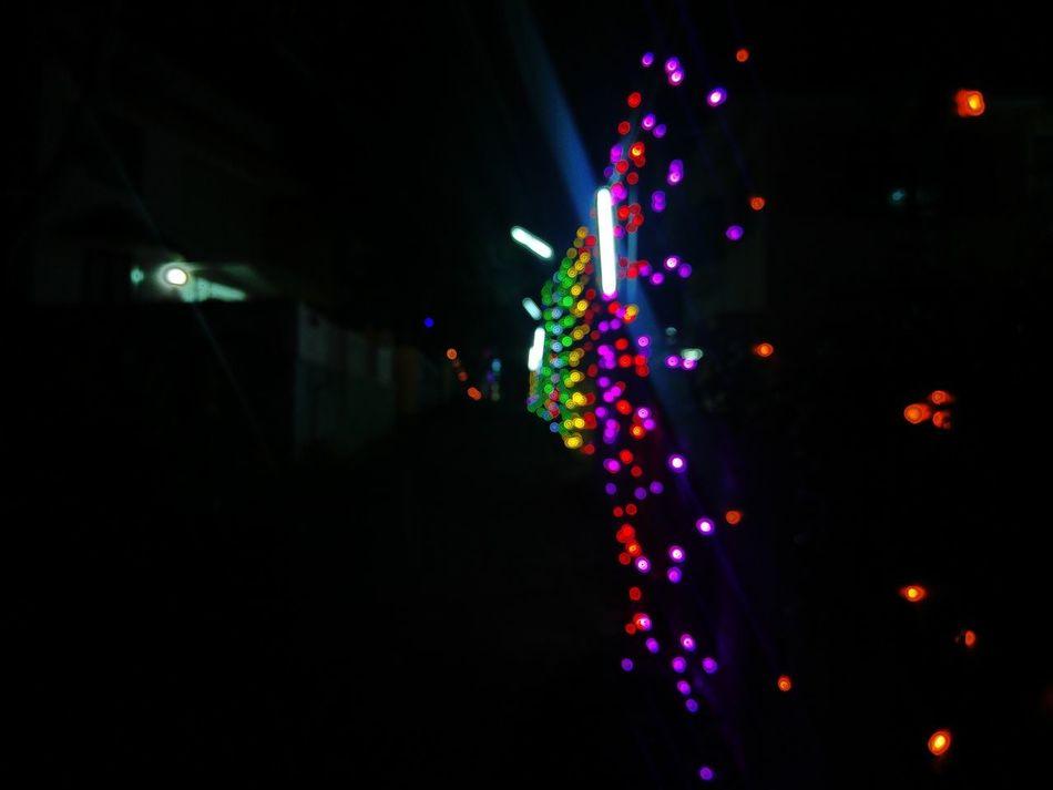 Out_of_focus Oneplus2 Photpgraphy Night Celebration Illuminated First Eyeem Photo