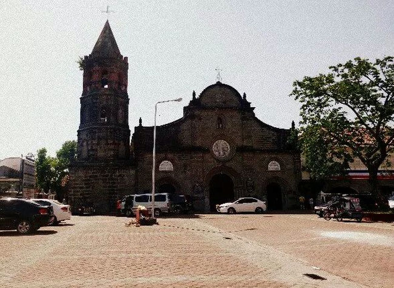 Historical Barasoain Church At Malolos Bulacan