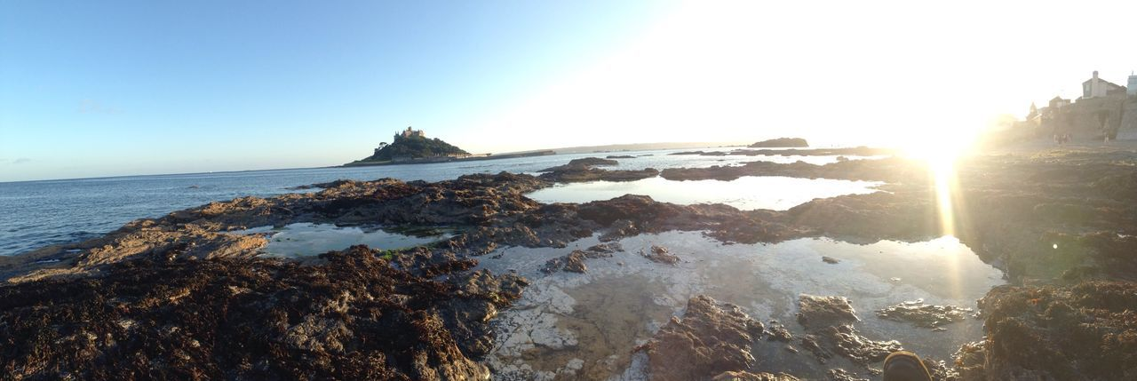 St Michaels Mount Cornwall IPhoneography Sea Relaxing Water Day Beach Happy Tranquility Holidays Panorama