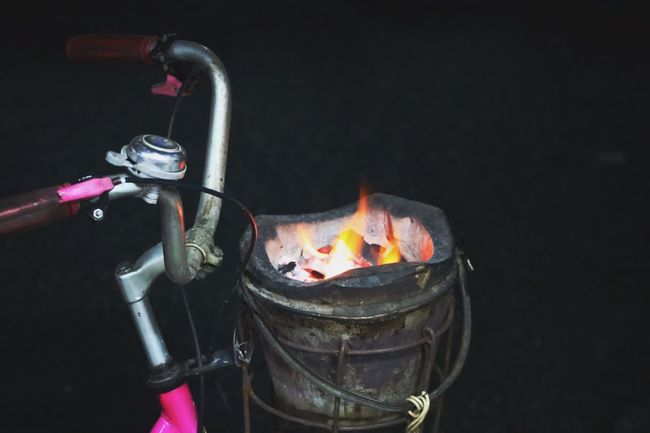 Grilled squid Stove Heat - Temperature Flame Burning Night No People Close-up Freshness Stove Fireworks Fire Hot Bicycle